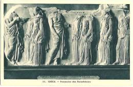GREECE GRECE ATHENS ATHENES PROCESSION DES PANATHENEES - Grèce