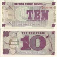 Gr. Britain P M48, 10 Pence, 1972 6th Series, Bradbury Wilkinson Printer - Militaire Uitgaven