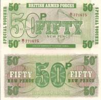 Gr. Britain P M49, 50 Pence, 1972 6th Series, Bradbury Wilkinson Printer - Military Issues
