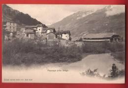 YVISP-04 Lanschaft Bei Visp , Paysage Près Viège. Rhone. BELEBT. Pioneer, Nicht Gelaufen. Burgy 2124 - VS Valais