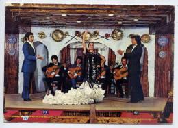 "Espagne--près Malaga--TORREMOLINOS--197 4--Cuadro Flamenco""El Julio""(danse,guitare)--,c Pm N°1822 éd  Beascoa - Espagne"