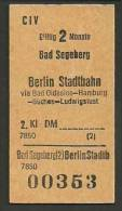 QT13 2kl CIV Bad Segeberg - Berlin Stadtbahn - Railway
