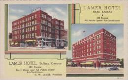 Kansas Hays Lamer Hotel