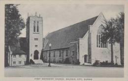 Kansas Baldwin City First Methodist Church Albertype
