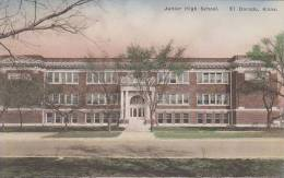 Kansas El Dorado Junior High School Albertype