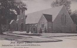 Kansas Osaqatomie First Baptist Chuirch