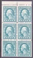 U.S.  498 E   Perf  11  Flat Press  No Wmk.  ** - Booklets
