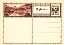 POSTCARD STATIONERY JELL AM SEE.SALZBURG UNUSED. - Enteros Postales