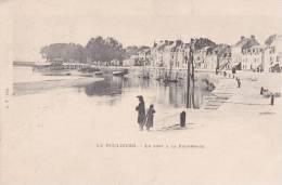 CPA - 44 -  LOIRE - ATLANTIQUE  - LE POULIGUEN -     Le Pont  & La Promenade -T TBE - Le Pouliguen