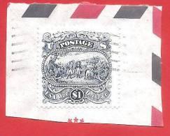 STATI UNITI - U.S.A. - USATO SU FRAMMENTO - 1994 - Resa Del Generale Burgoyne A Saratoga -  US. $ 1,00 - Y & T 2238 - United States