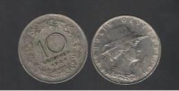 AUSTRIA  -  10 Groschen 1925 KM2838 - Woman Of Tyrol,  Coin - Austria