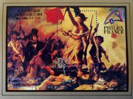 PHILEXFRANCE 1989 - NEUF ** - YT BL 62 - MI BL 248 - Corea Del Nord
