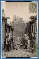 12 - NAJAC -- Une Rue Et Le Chateau - Najac