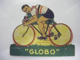 COUREUR CYCLISTE CYCLISME  IMAGE DECOUPAGE CHEWING GUM GLOBO - HENDRICKX - Cyclisme