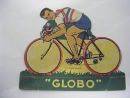 COUREUR CYCLISTE CYCLISME  IMAGE DECOUPAGE CHEWING GUM GLOBO - THIETARD - Cyclisme