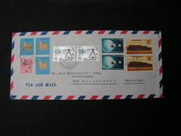 ==  Japan , Air Mail 1978  Swiss  Nice Cv. - 1926-89 Kaiser Hirohito (Showa Era)