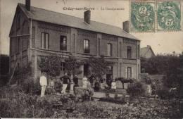 02 - CRECY SUR SERRE - LA GENDARMERIE - Frankrijk