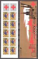CARNET CROIX ROUGE  COMPLET  ANNEE  1987  SUPERBE ** Non Pliè - Red Cross