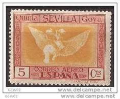 ES518-LA269TPO.España Spain.Espagne.Pintor.AGUA FUERTES. ALEGORIAS  DE GOYA 1930 (Ed 518**) Sin Clarnela  MUY BONITO - Otros