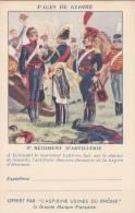 CPFM 1940 - Aspirines Du Rhone - 2 Lignes Adresse - 8ème Régiment Artillerie - Non Circulé - Eckmuhl - Marcophilie (Lettres)