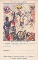 CPFM 1940 - Aspirines Du Rhone - 2 Lignes Adresse - 5ème Régiment Dragons- Non Circulé - Cavalerie - Marcofilia (sobres)