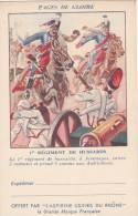 CPFM 1940 - Aspirines Du Rhone - 2 Lignes Adresse - 1er Régiment Hussards - Non Circulé - Cavalerie - Marcophilie (Lettres)