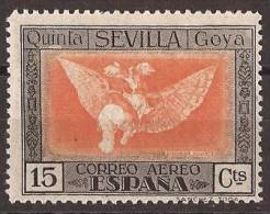 ES520-LA270TPO.España Spain.Espagne Pintor. ALEGORIAS DE GOYA 1930 (Ed 520**) Sin Clarnela  MUY BONITO - Profesiones