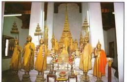Inside The Temple Of Dawn, Bangkok - TST Unused - Thailand