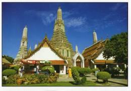 The Pagoda In Temple Of Dawn, Bangkok - TST Unused - Thailand