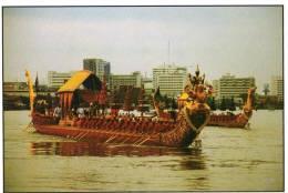 Royal Barge Narai Song Suban HM King Rama IX, Bangkok - TST Unused - Thailand