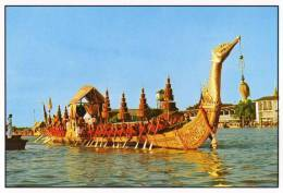 The Royal Barge, Sri-Suphan-Nahongs In Bangkok - TST Unused - Thailand