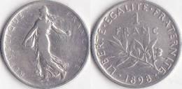 SEMEUSE * 1 Franc  1898 - IIIéme République (1871-1940) - France