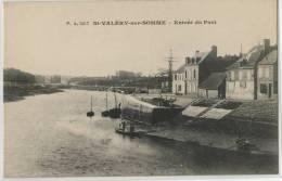 80 - SAINT VALERY SUR SOMME - ENTREE DU PORT - Saint Valery Sur Somme