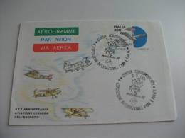 Aerogramme Via Aerea Par Avion  Xxx Anniversario Aviazione Leggera Dell'esercito - 6. 1946-.. Repubblica