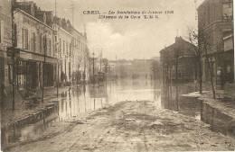 60 - OISE - CREIL - Les Inondations De Janvier 1926 - Creil