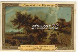 CHROMO CHOCOLAT DU PLANTEUR - N° 78 - MUSEE DU LOUVRE - PAYSAGE - Chocolat