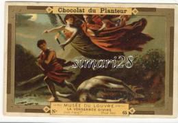 CHROMO CHOCOLAT DU PLANTEUR - N° 65 - MUSEE DU LOUVRE - LA VENGEANCE DIVINE - Chocolat