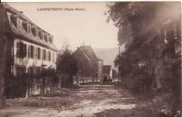 LAPOUTROIE (Haut-Rhin) - Haute-Alsace Rue Du Village -  VOIR 2 SCANS - - Lapoutroie