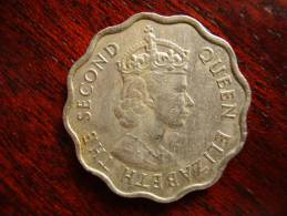 MAURITIUS 1971  TEN CENTS Copper-nickel Coin USED In Good Condition. - Mauritius