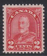 Canada MNH Scott #165a 2c George V Arch Issue - Neufs