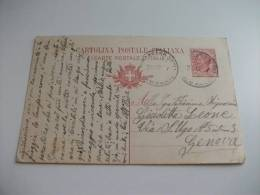 Cartolina Postale Italiana 10 Cent - 1900-44 Vittorio Emanuele III