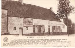 """Bataille De Waterloo- Ferme """" La Belle Alliance"""" -Café- """"Carte D´Honneur""""-Ecole Moyenne La Louvière (voir Scan) - Waterloo"""