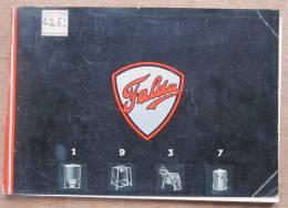"catalogue ""Machines � laver ""FALDA"" avec photos de la fabrique � Ransart"" 1937"