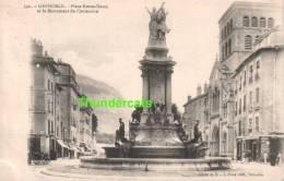 CPA 38 ISERE  GRENOBLE  PLACE NOTRE DAME ET LE MONUMENT DU CENTENAIRE - Grenoble