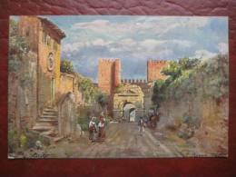 Roma - Künstlerkarte Porta S. Sebastiano (Porta Appia) - Other Monuments & Buildings