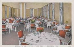 Michigan Muskegon Occidental Hotel Dining Room