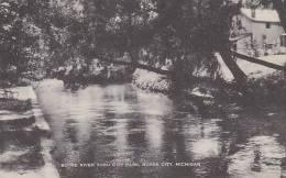 Michigan Boyne City Boyne River In City Park Artvue