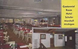 Michigan Marshall Centennial Room Hotel Schuler