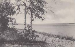 Michigan Boyne City Scene Along Lake Charlevoix Artvue