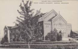 Michigan Adrian Walsh Hall Saint Joseph Academy Artvue